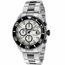 Invicta Pro Diver Alarm Chronograph White Dial Men's Watch 10503