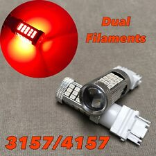 Rear Turn Signal Light RED samsung 63 LED bulb T25 3157 3457 4157 FOR Ford