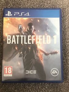 Battlefield 1 (Sony PlayStation 4, 2016) PS4 Mint condition.