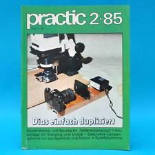 DDR practic 2/1985 Seifenkisten Spielfallschirme Lampenschirme Strickleitern Q