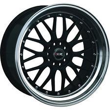 18x10 Black XXR 521 Wheels 5x4.5 5x120 +25 BMW 6 SERIES 650 7 SERIES 740 -750 M3