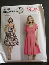 Butterick love sewing B6556 dress sewing pattern uncut sizes 6-22