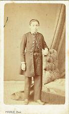 Photo cdv : Fourié ; Don Julio Blas de Lazurtegui , mai 1868