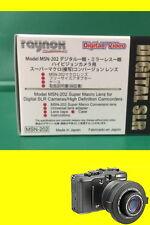 Raynox MSN-202 Macro Lens 4 Canon XA10/XF105/XF100/M40/M41/M400/M46/M406/M30/M31