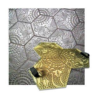 Polyurethane Mat Stamp GAUDIE | Texturing Concrete Imprint Stamping Texture