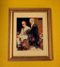 """The Doors/Ray Manzarek & Robbie Kreiger""(ultra-rare)duel signed induction photo"
