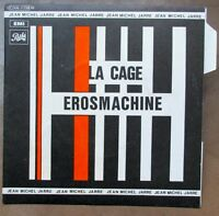 "JEAN MICHEL JARRE La Cage / Erosmachine 7"" ORIGINAL PRESS MINT / MINT !"