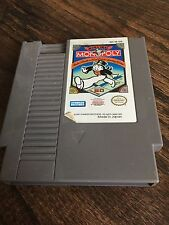 Monopoly Original Nintendo NES Game Cart NE3