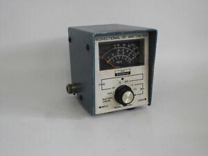 HEATHKIT SM-4190 PRECISION VHF AND UHF 100 to1000 MHz 0-300 WATTS WATTMETER