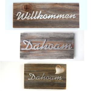 Holzschild Dekoschild Altholzbrett mit Spruch Geschenke Familie Schilder Deko