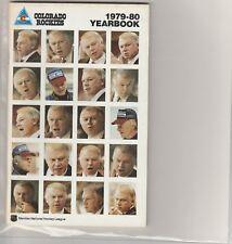 1979 80 Colorado Rockies Yearbook/Media Guide Don Cherry Beck Gillis Ramage
