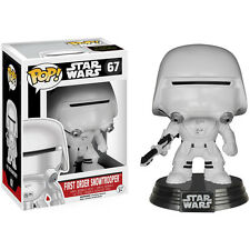 Pop! Star Wars The Force Awakens First Order Snowtrooper Bobblehead (67) NEW