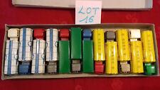SESAME.Boite rare de 12 camions BERLIET,MERCEDES,BERNARD..etc.m.in fr.(lot n°16)