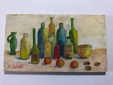 Paolo Salvati, miniatura 1999, olio su tavola. cm 11,5x6,6