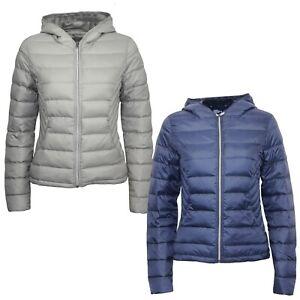 Women's Next Padded Packaway Slim Fit Light Hooded Down Puffa Winter Jacket Tops