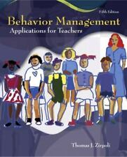 Behavior Management : Applications for Teachers by Thomas J. Zirpoli (2007, Pape