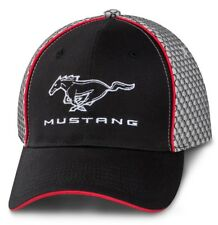 BRAND NEW FORD MUSTANG HONEYCOMB MESH STRUCTURED CAP/HAT! OFFICIALLY LICENSED!