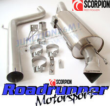 "Scorpion Corsa D VXR Exhaust 3"" Cat Back Non Res Stainless System Louder SVXS054"