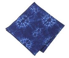 NEW Pocket Square Handkerchief Denim Indigo Made with Ralph Lauren Fabric RRL