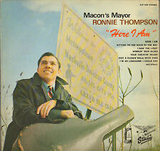 """RARE RONNIE THOMPSON """"HERE I AM"""" COUNTRY ROCK LP 1970 JAMES BROWN PROD !"""