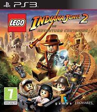 LEGO INDIANA JONES 2: l'Avventura Continua ~ PS3 (in ottime condizioni)