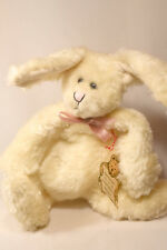 Boyds Bears: Nubby - 8 inch plush Rabbit - Bears in the Attic - White Pink Bow