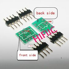 20PCS SOP8 SO8 SOIC8 TSSOP8 MSOP8 to DIP8 Adapter PCB DIY Conveter BoardT xc