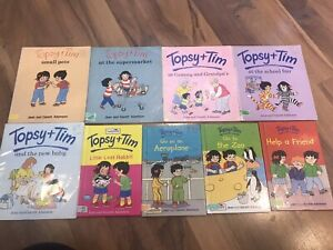 Vintage Topsy And Tim Books x 9 Price