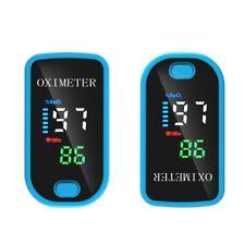 Oxymètre De Pouls Doigt Oxygène Cardiaque Sanguin Saturometre Pulsometre SPO2 FR