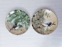Set of 2 Fairy Wrens Of Australia Collector Plates Westminster Richard Weatherly