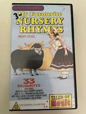VHS: MY FAVOURITE NURSERY RHYMES