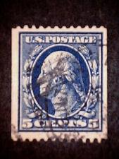 US 351  5 Cent   Washington Blue  P12H    WM 191  VF+  Used   ScCV  $300