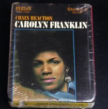 8 Track-Carolyn Franklin-Chain Reaction-1970 Tape-SEALED!
