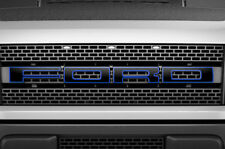 F150 SVT Raptor Ford Grill Insert Graphics Stickers Decals 2010-2014 BLACK BLUE