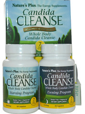 NEW NATURE'S PLUS CANDIDA CLEANSE 7 DAY PROGRAM GLUTEN FREE WHOLE BODY DAILY