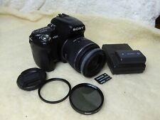 Sony Alpha A500 12.3MP Digital SLR Camera - Black (Kit w/ 18-55mm Lens) + filter