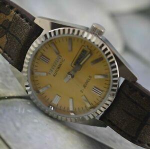 Vintage Citizen 21J Automatic Wrist Watch For Men's Wear Working Good W-9574
