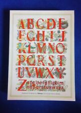 Vtg. 'Conservation Alphabet' (1986, Artlines) 30-Piece (Complete) Jigsaw Puzzle