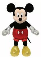 TY Beanie Baby - Disney Sparkle - MICKEY MOUSE - MWMT's Stuffed Animal Toy