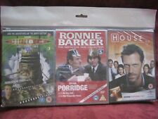 HOUSE MD ~ RONNIE BARKER ~ DR WHO 3 X DVD'S NEW IN SLEEVES