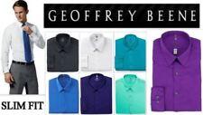 Geoffrey Beene Cotton Blend Easy Iron Formal Shirts for Men
