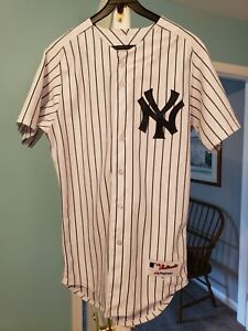 Authentic Majestic Yankees jersey size 40 Small Tanaka Righetti number 19