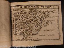 1660 Julius Caesar Illustrated War MAPS Spain Europe Military Rome Empire