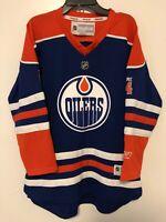 NHL Edmonton Oilers Eberle Hockey Jersey Reebok Youth Size L/XL