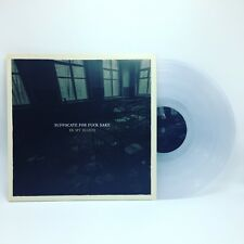 Suffocate For Fuck Sake - In My Blood CLEAR Vinyl LP LIMITED EDITION x/150 SFFS
