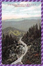 Carte Postale - In the Siskyou Mountains, on the S P. R. R. California-Oregon
