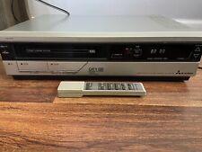 New ListingRare 1985 Vintage Electronics Mitsubishi Hs-3181Ur Vcr With Og Remote- Tested
