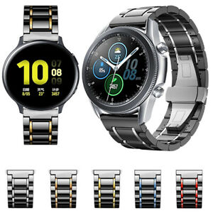 Ceramic Band Strap For Samsung Galaxy Watch Active 2 40/42/44/46mm Gear S2 S3