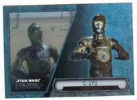 2016 Topps Star Wars Evolution Trading Card #72 C-3PO Protocol Droid