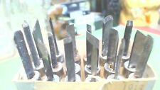 Wood Carving Tools-Niji- Knife- Chisel-small details- Set 18 pcs-used